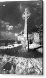 High Cross Acrylic Print by Simon Marsden
