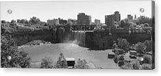 High Falls In Rochester New York Acrylic Print by Matthew Green