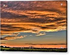 High Pressure Dominating Acrylic Print by Andrew Crispi