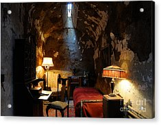 Historic Prison Cell Of Al Capone Acrylic Print by Gary Whitton