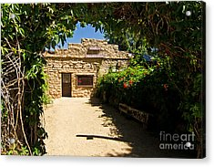 Historic Trading Post Acrylic Print by Bob and Nancy Kendrick