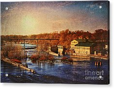 Acrylic Print featuring the photograph Historic Vulcan Paper Mill by Joel Witmeyer