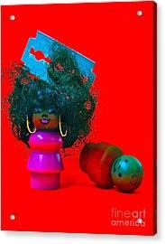 Hold My Baby Acrylic Print by Ricky Sencion