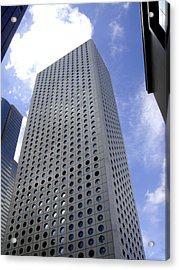 Buildings Acrylic Print featuring the photograph Hole Pattern by Roberto Alamino