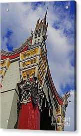 Hollywood Studios - The Great Movie Ride Acrylic Print by AK Photography