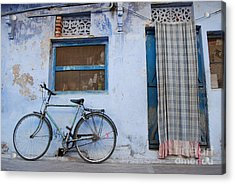 Home Acrylic Print by Jen Bodendorfer