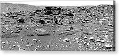Home Plate, Mars Acrylic Print by Nasa