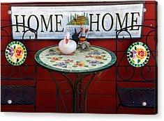 Home Sweet Home Acrylic Print by Jeff Lowe