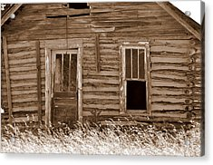 Homestead Past Acrylic Print by Marty Koch