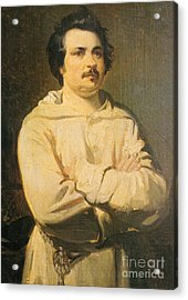Honore De Balkzac, French Author Acrylic Print by Photo Researchers