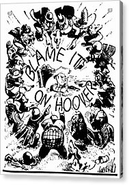 Hoover Cartoon, 1931 Acrylic Print by Granger
