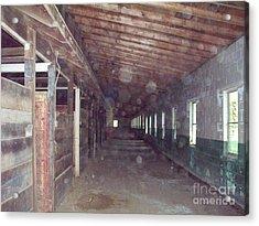 Horse Barn Spirits Acrylic Print by Greg Geraci