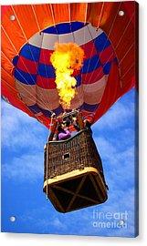 Hot Air Balloon Acrylic Print by Carlos Caetano