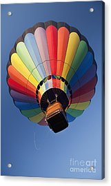 Hot Air Balloon In Flight Acrylic Print by Bryan Mullennix