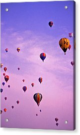 Hot Air Balloon Race - 1 Acrylic Print by Randy Muir