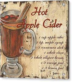 Hot Apple Cider Acrylic Print by Debbie DeWitt