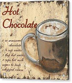 Hot Chocolate Acrylic Print by Debbie DeWitt