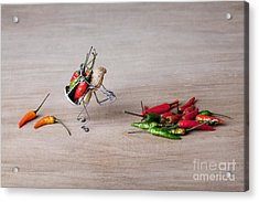 Hot Delivery 02 Acrylic Print by Nailia Schwarz