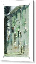 House On Barton Street Acrylic Print by Bob Salo