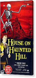 House On Haunted Hill, Bottom Left Acrylic Print by Everett