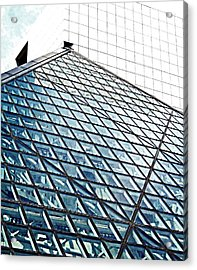 House That Rock Built Acrylic Print by Andrea Dale