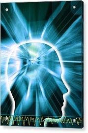 Human Consciousness Acrylic Print by Pasieka