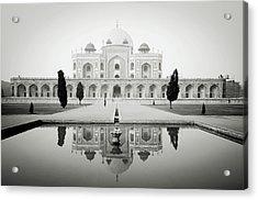 Humayun Tomb Acrylic Print by Dhmig Photography