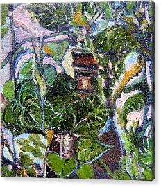 I Am The Vine Acrylic Print by Mindy Newman