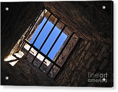 I Can See The Light Acrylic Print by Kaye Menner