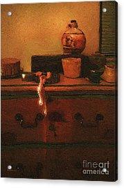 I Do Love Pearls Acrylic Print by RC deWinter