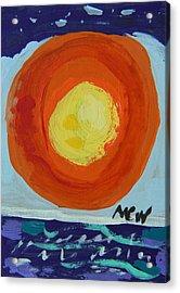 I Like A Full Sun Acrylic Print by Mary Carol Williams