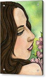 I Remember Acrylic Print by Nora Blansett