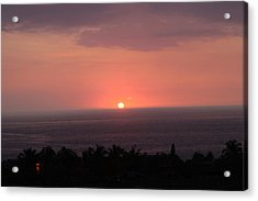 I Want To See Beyond Acrylic Print by Raquel Amaral