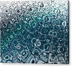 Ice Cubes Acrylic Print by Pam Blackstone
