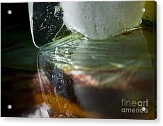 Ice Obsession Two Acrylic Print by Gwyn Newcombe