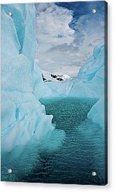 Iceberg Lagoon Acrylic Print by Duane Miller