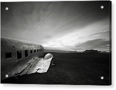 Iceland Dc-3 Acrylic Print by Nina Papiorek