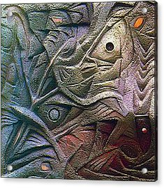 Icthus 1984 Acrylic Print by Glenn Bautista