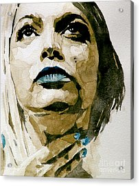 If There's A Big Guy Up There Acrylic Print by Paul Lovering
