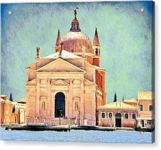 Il Redentore Acrylic Print by Jeff Kolker