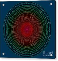 Illuminate Dark Circle  Acrylic Print by Atiketta Sangasaeng