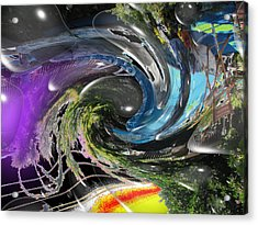Imagination 2 Acrylic Print by HollyWood Creation By linda zanini