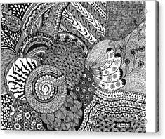 Imagination Acrylic Print by Shweta Singh