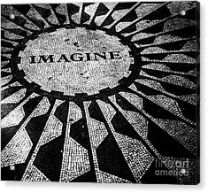 Imagine Acrylic Print by Ken Marsh
