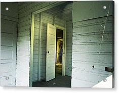 In A Cottage Acrylic Print by Janet Kearns