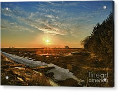Acrylic Print featuring the photograph In A Wisconsin Moment by Joel Witmeyer
