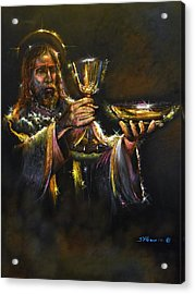 In Remembrance Of Me Ll Acrylic Print by Tommy  Winn