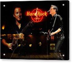 In The Hard Rock Cafe Acrylic Print by Stefan Kuhn