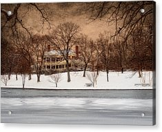In The Midst Of Winter Acrylic Print by Robin-lee Vieira