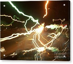 In Your Face Acrylic Print by Greg Geraci